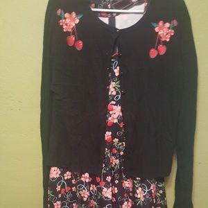 Voodoo Vixen Dress and Sweater SET never worn 3x